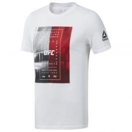 Reebok UFC Octagon triko - bílá bílá S