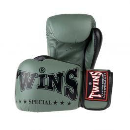 Boxerské rukavice Twins - khaki khaki 10