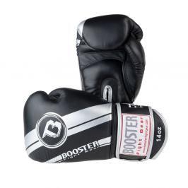 Boxerské rukavice Booster Silver Foil - černá/stříbrná černá 10