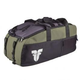 Sportovní taška FIGHTER LINE XL zelená/šedá/černá zelená