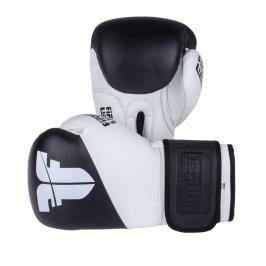 Boxerské rukavice Fighter SPLIT- černá/bílá černá 10
