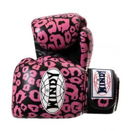 Boxerské rukavice Windy Special - černá/růžová černá 10