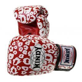 Boxerské rukavice Windy Special - červená/bílá červená 10