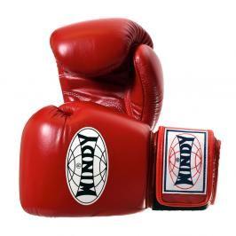 Boxerské rukavice WINDY Special - červená červená 10
