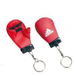 Mini rukavička adidas karate červená