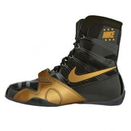 Box boty Nike HyperKO - černá/zlatá černá 5