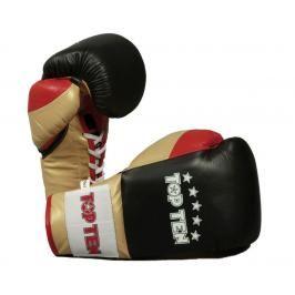 Boxerské rukavice Top Ten Profi - černá/zlatá černá 10