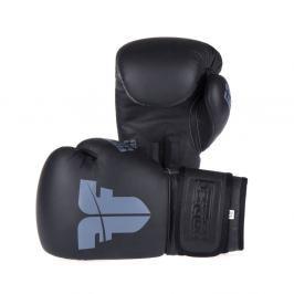 Boxerské rukavice Fighter SIAM - černá černá 8