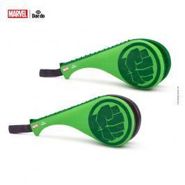 Lapa TKD DAEDO dvojitá dětská, junior - Hulk zelená XS