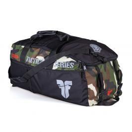 Sportovní taška FIGHTER LINE XL TACTICAL SERIES - Camo maskáč