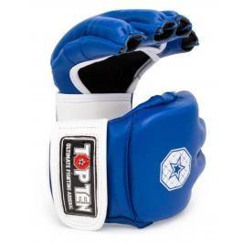 MMA Rukavice - TOP TEN Striking C-Type - modrá/bílá modrá S