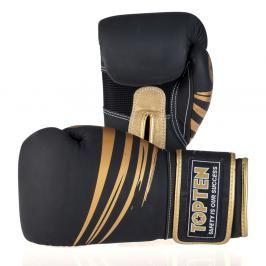 Boxerské rukavice Top Ten 4Select Beast Limited edition - černá/zlatá černá 12
