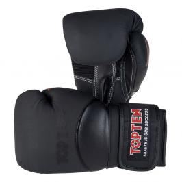 Boxerské rukavice Top Ten 4Select - černá černá 12