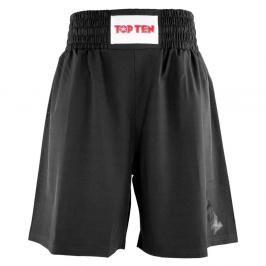 Boxerské trenky TOP TEN - černá černá S