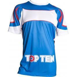 Top Ten tréninkové triko - modrá/bílá modrá L