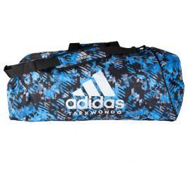 Sportovní taška adidas Taekwondo 2in1 - modrý maskáč modrý maskáč