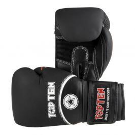 Boxerské rukavice Top Ten 4Select - černá/bílá černá 12