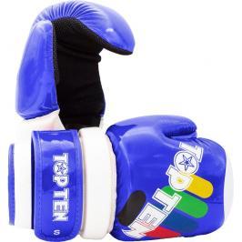 Otevřené rukavice Top Ten Glossy ITF - modrá modrá S