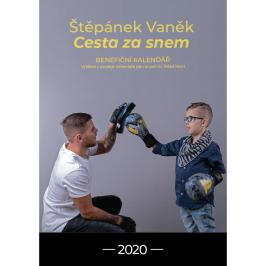 Benefiční kalendář - Štěpán Vaněk cesta za snem mix barev
