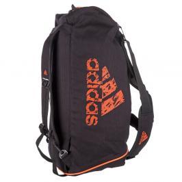 Sportovní taška adidas training 2in1 - černá/oranžová černá M