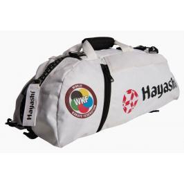 Hayashi taška / batoh Combo WKF bílá M bílá