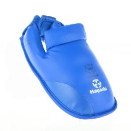 Chrániče nohou Hayashi WKF - modrá modrá S