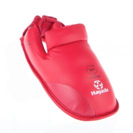 Chrániče nohou Hayashi WKF - červená červená S