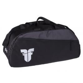 Sportovní taška GYM Fighter - černá/šedá černá