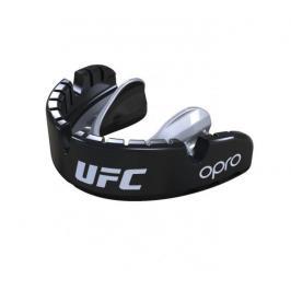 Chrániče zubů na rovnátka - OPRO UFC - GOLD level - černá černá