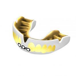 Chrániče zubů - OPRO UFC PWF - bílá/zlatá bílá