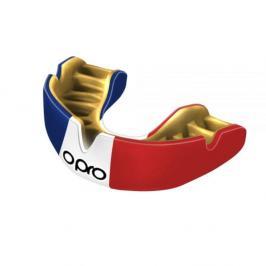 Chrániče zubů - OPRO UFC PWF - Trikolora červená