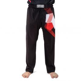 Kalhoty Fighter - FIGHT - černá/červená černá XXXS