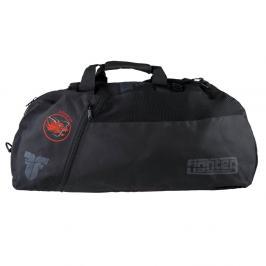 Sportovní taška Fighter s potiskem Judo4Fun černá M