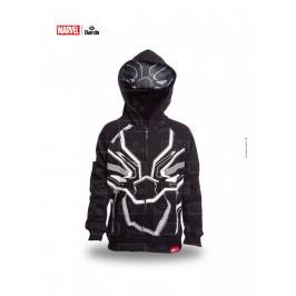 Daedo mikina s maskou Black Panther - černá černá 110