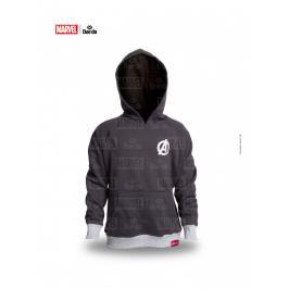 Daedo mikina Avangers - šedá šedá 110