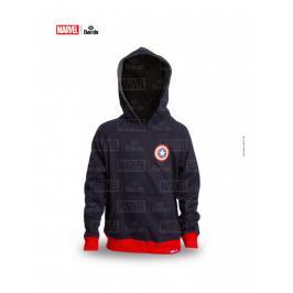 Daedo mikina Captain America - černá černá 110