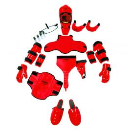 RedMan Oblek XP speciál červená L/XL-přilba XL