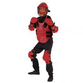 RedMan XP - Oblek pro studenty červená set S/M - přilba L