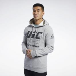 Reebok UFC FG mikina - šedá šedá S
