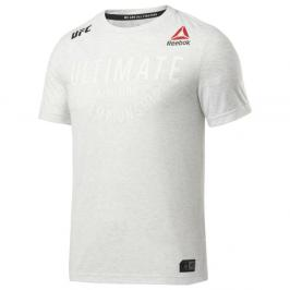 Reebok UFC Fight Night Walkout Jersey triko - bílá bílá S