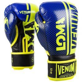Venum boxerské rukavice Shield LOMA edice - modrá/žlutá modrá 10