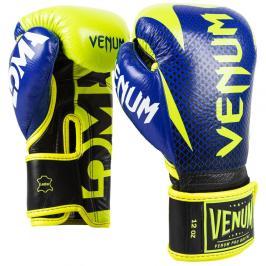 Venum boxerské rukavice Hammer LOMA edice - modrá/žlutá modrá 10