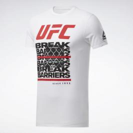 Reebok UFC FG Capsule triko - bílá bílá S