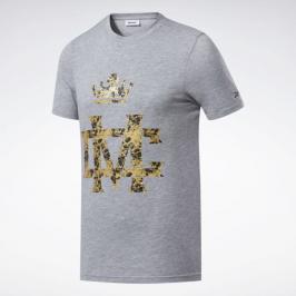 Reebok Combat Conor McGregor triko - šedá šedá S