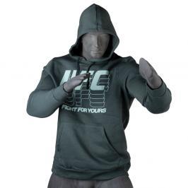 Reebok UFC FG mikina - zelená zelená S
