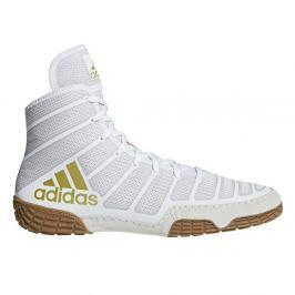 Zápasnická obuv adidas Varner - bílá/zlatá bílá 10