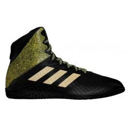 Zápasnické Boty adidas Mat Wizard Hype - černá/zlatá černá 8