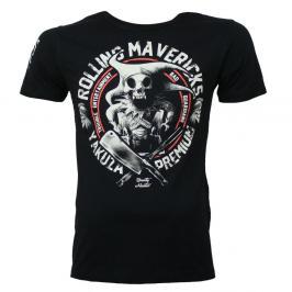 Triko Yakuza Premium Rolling Mavericks - černá černá L