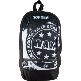 Top Ten batoh Olympiáda 2020 WAKO - černá/bílá černá