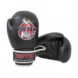 Dětské boxerské rukavice Top Ten Kids - černé černá 8